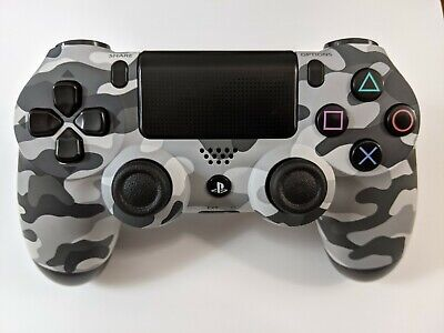 AU89.36 • Buy Official Sony PS4 Limited Edition Urban Camo Controller - Cleaned & Sanitized