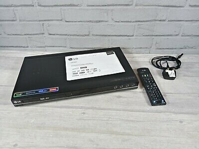 £79.99 • Buy LG DRT389H Digital TV DVD Recorder Built In Freeview DVB-T HDMI USB With Remote