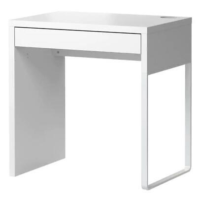 £79.45 • Buy IKEA MICKE Desk Computer Table With Drawer Working Table White Workspace 73x50cm
