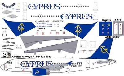 £7.10 • Buy Cyprus Airways Airbus A-319 Pointerdog7 Decals For Revell 1/144 Kit