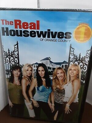 £6.38 • Buy The Real Housewives Of Orange County Season 1 (DVD,2007) New & Sealed