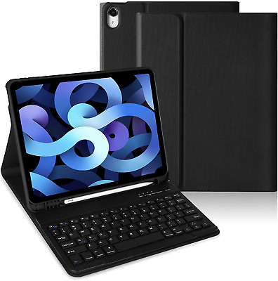£34.99 • Buy New IPad Air 4th Generation Wireless Keyboard Case 2020 Apple 10.9'' Smart Cover