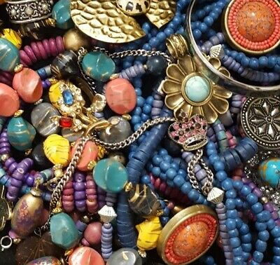 $ CDN32.66 • Buy Vintage Now Unsearched Untested Junk Drawer Jewelry Lot All Wear Estate L888