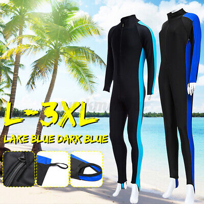 $22.59 • Buy Lightweight Full Body Wetsuit Diving Snorkeling Surfing Scuba Suit Long Sleeves