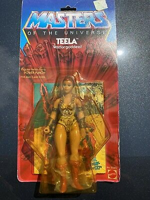 $499.99 • Buy MOTU Masters Of The Universe TEELA Action Figure 8 BACK New On Card RARE