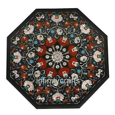 AU1478.99 • Buy 27  Marble Coffee Table Mosaic Art Unique Design Center Table For Home Furniture