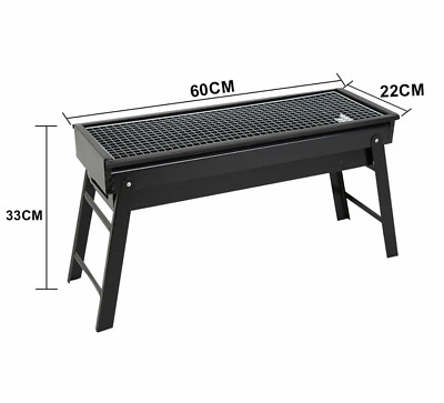 $ CDN31.01 • Buy BBQ Foldable Outdoor Charcoal Grill Portable Collapsible Barbecue Grill