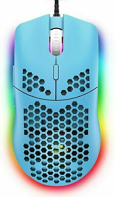 AU28.23 • Buy Lightweight Gaming Mouse RGB Backlit 6400 DPI Honeycomb Shell Mouse For PC PS4
