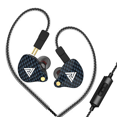 $ CDN19.18 • Buy QKZ VK4 3.5mm Wired Headphones In-ear Sports Headset Moving Coil Music F5C8