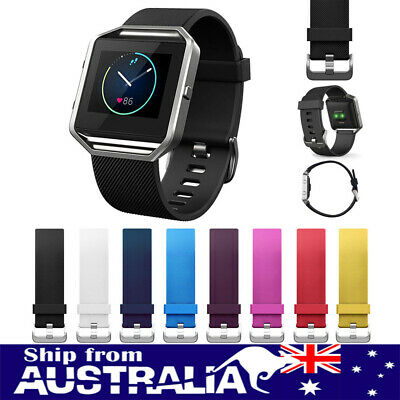 AU5.99 • Buy Replacement Silicone Watch Band Fitness Bracelet Wrist Strap For Fitbit Blaze Se