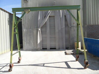 £545 • Buy Mobile A-frame Lifting Gantry. 750kg Capacity. With Manual Trolley And Hoist