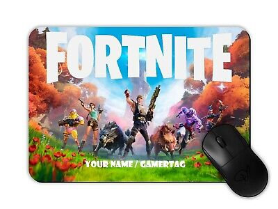 $ CDN13.87 • Buy Fortnite Gamer Mouse Mat Pad Personalised With Any Name/gamertag