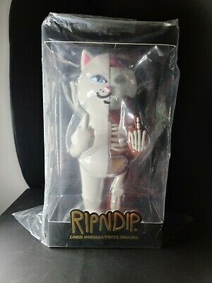 "$300 • Buy RipNDip Lord Nermal Cat 14"" Vinyl Figure White 6/500 Limited Rare *Very Low Numb"