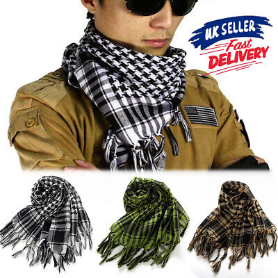 £4.39 • Buy Neck Face Scarf Palestine Tactical Arab Army Shemagh Military KeffIyeh Mask