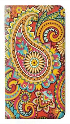 AU33.73 • Buy W3402 Floral Paisley Pattern Seamless Flip Case For IPHONE Samsung ETC