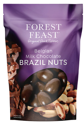 £13.14 • Buy Forest Feast Belgian Milk Chocolate Brazil Nuts In Resealable Bag 700gm