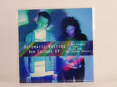 AUTOMATIC WRITING NEW COLOURS (E48) 4 Track Promo CD Single Picture Sleeve • 3.29£