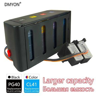 £54.96 • Buy DMYON Replacement For Canon PG40 CL41 CISS Bulk Ink For IP1200 IP1600 IP1800