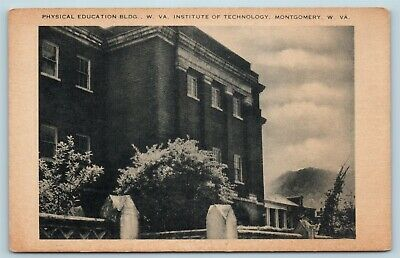 $ CDN21.75 • Buy Postcard WV Montgomery Institute Of Technology Physical Education Building W15