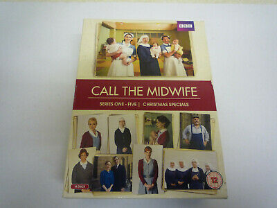 Call The Midwife - Series 1-5 Plus Christmas Specials -  16  DVD Boxset  • 26.95£