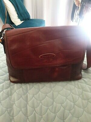 AU80 • Buy OROTON Brown Leather Shoulder Bag Handbag Vintage
