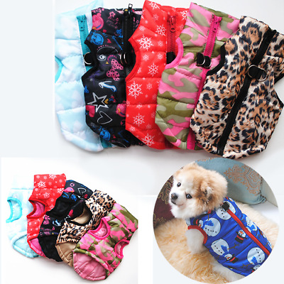 Pet Dog Puppy Clothes Small Dog Clothes Coat Jacket Winter Warm Vest  Waterproof • 6.31£