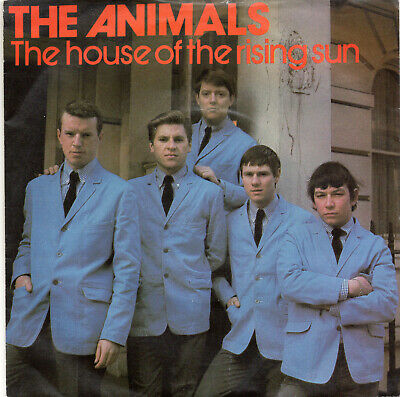 £7.99 • Buy THE ANIMALS - THE HOUSE OF THE RISING SUN - PS  - 80's - 7  VINYL