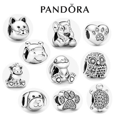 £8.66 • Buy ALE S925 Genuine Silver Pandora Friends Passions Animals Pets Charm & Gift Box