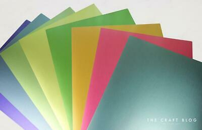 £3.99 • Buy Dovecraft Tropical Metallic A4 Card Pack 250GSM - 8 Sheets