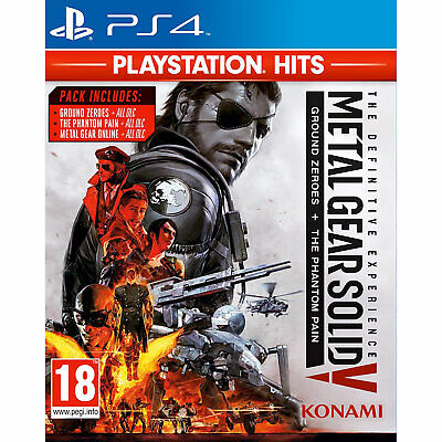 £11.95 • Buy Metal Gear Solid V (MGS 5) The Definitive Experience PS4 PLAYSTATION New&Sealed