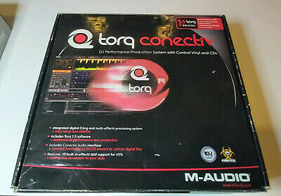 $119 • Buy M-Audio Torq Conectiv With Software