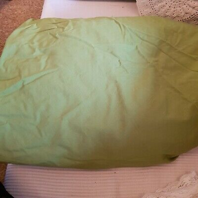 Ikea Lime Green 100% Cotton Fitted Sheet Queen Size • 5£