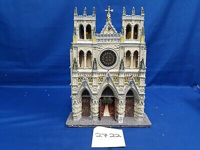 $ CDN21.85 • Buy Lemax Village Collection St. Patrick's Cathedral Facade #95916 As Is 2722