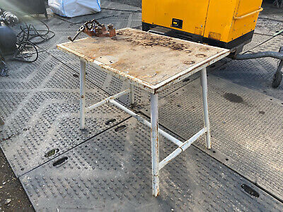 £175 • Buy Ridgid Folding Work Bench Table With Pipe Chain Vice