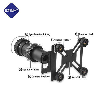 £57 • Buy DISCOVERY RIFLE SCOPE UNIVERSAL FIT Phone Adapter Camera Scope Mount.