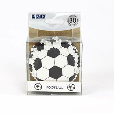 £5.62 • Buy PME Football Cupcake Cases Foil Lined 30 Pack