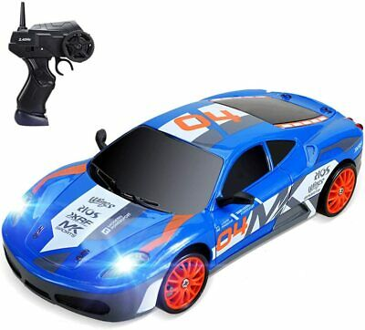 £40.77 • Buy RC 1/24 Scale 15 KMH High Speed Remote Control Drift Car,LED Headlight,Kids Toy
