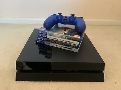 AU199 • Buy PS4 500GB With New Blue Controller And 4 Games! Endless Fun!