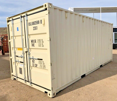 AU7795 • Buy New One Trip 20ft GP Shipping Container With Easy Door Handles - Ex MELB