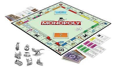 Monopoly Classic Board Game From Hasbro Gaming Best Game To Play With Friends • 48.99£