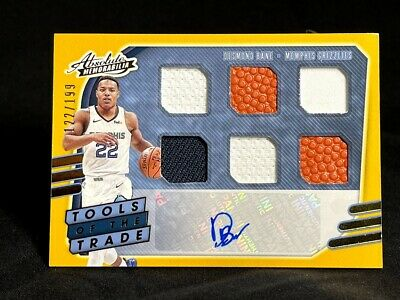 AU33.49 • Buy 2020-21 Absolute Memorabilia Tools Of The Trade # 6 Desmond Bane Patch Auto /199