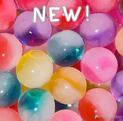 AU10.49 • Buy NEW NEW NEW Marbled Orbeez / Water Beads. Absolutely Stunning!! Look!