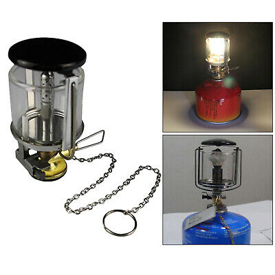 £12.87 • Buy Mini Gas Lantern Fuel Lamp Light Compact Backpacking 80LUX Heater Equipment