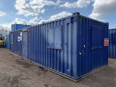 £6750 • Buy 32ft Portable Office Site Cabin Canteen Welfare Unit