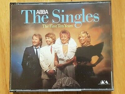 £39.99 • Buy Abba The Singles First Ten Years 2cd Set Rare Polar Blue Face Fat Box W Germany