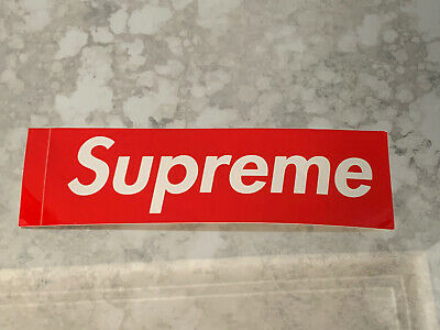 $ CDN2.80 • Buy SupremeRed Box Logo Sticker 100% Authentic FREE SHIPPING