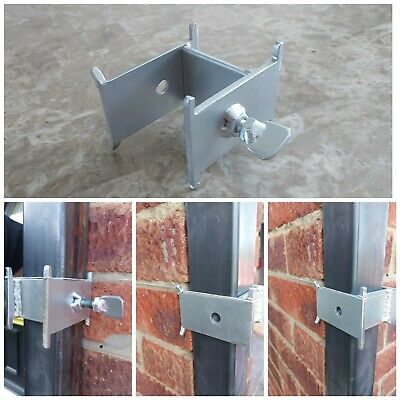 £8.99 • Buy Long Sided DORI BLOCK With Eight Tie Points For 40 & 50 Mm Brick Profile Poles