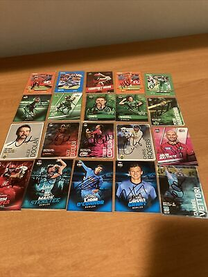 AU30 • Buy Signed  Cricket Cards  Various X20