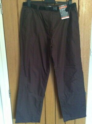 £20 • Buy BNWT Womens Peter Storm Brown Lined Trousers 16 Regular