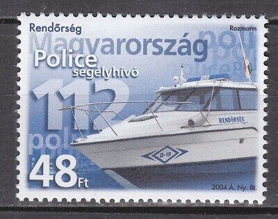 $ CDN1.47 • Buy HUNGARY 2004 **MNH SC# 3887 Police Boat And Emergency Phone Number
